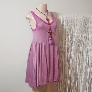 NEW! NWT! FREE PEOPLE SHIMMERING DRESS!